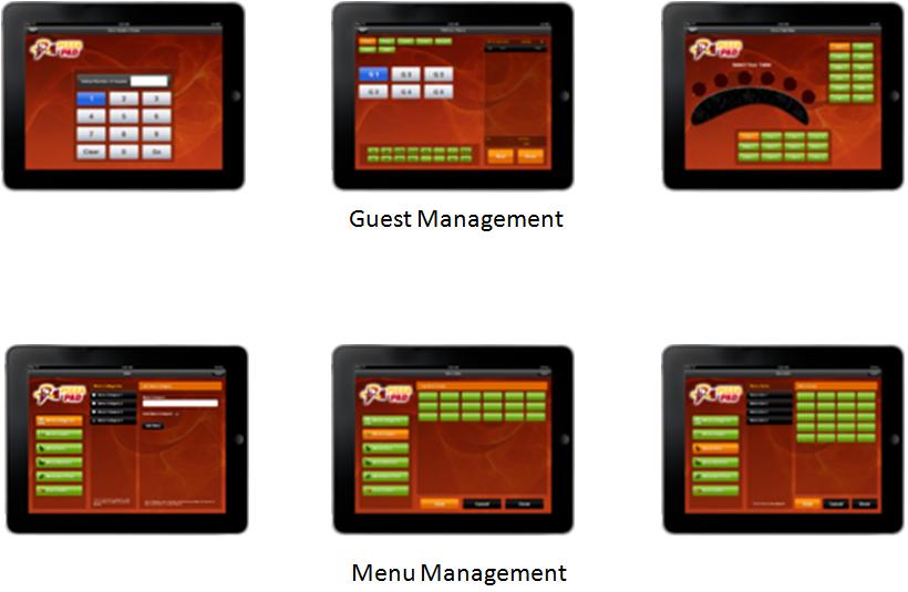 iPizza – iPad Pizza Restaurant POS App