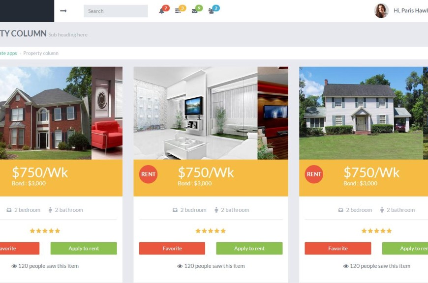 Real Estate Property Listing – Buy/Rent/Sell