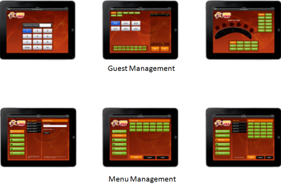 iPizza – iPad Pizza Restaurant POS App