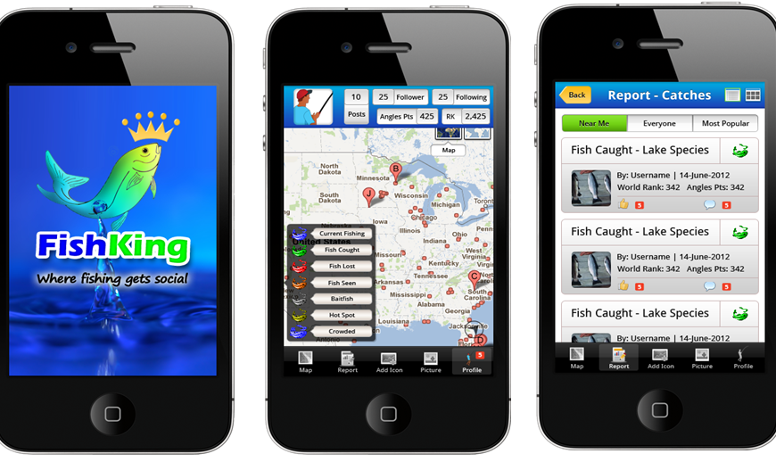 Fishing King – iPhone App for Fishing Management